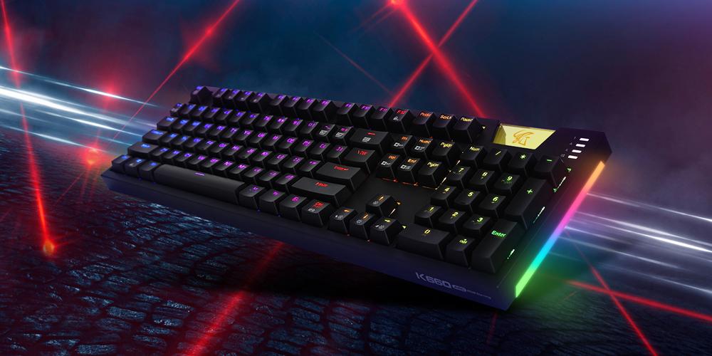 HACKER K660 ARC 사이드 RGB 카일광축